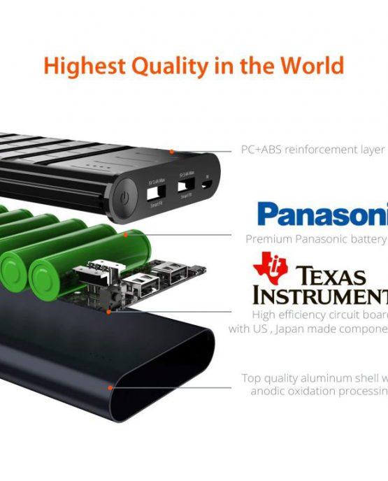 Внешний аккумулятор Jackery Titan 20100 mAh Power Bank