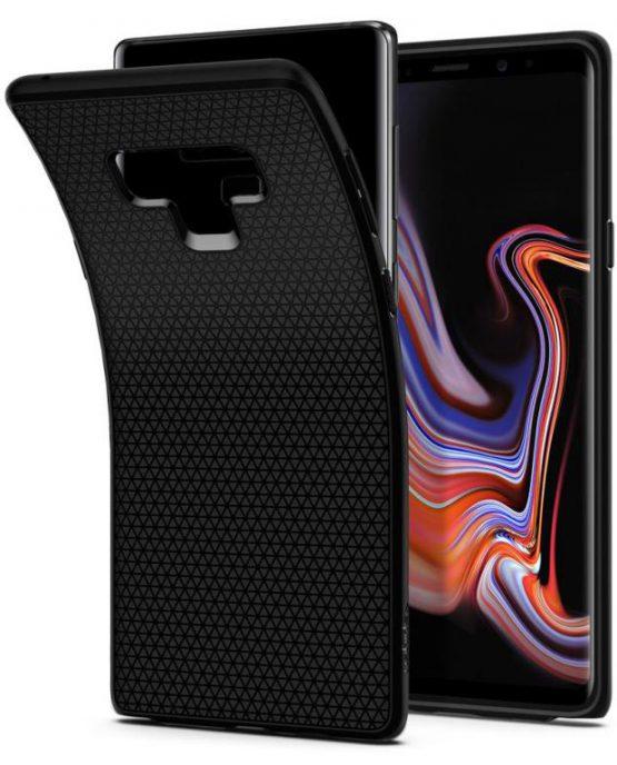 Чехол Spigen Liquid Air Armor Black для Samsung Galaxy Note 9