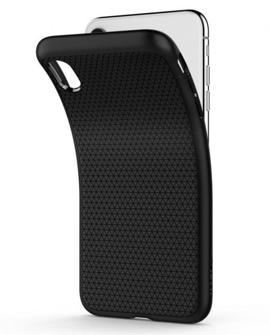 Чехол Spigen Liquid Air Armor Black для iPhone XR