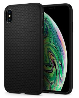 Чехол Spigen Liquid Air Armor Black для iPhone XS Max