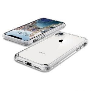 Чехол Spigen Ultra Hybrid Crystal Clear для iPhone XR