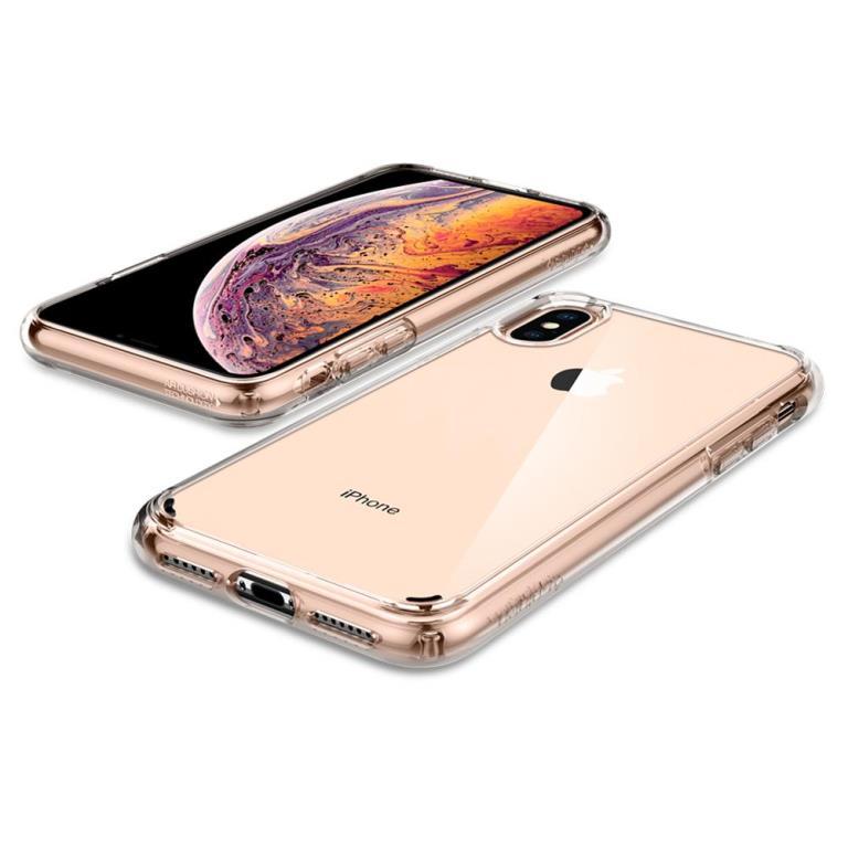 brand new c3c16 f16e1 Чехол Spigen Ultra Hybrid Crystal Clear для iPhone XS Max купить в Киеве и  Украине