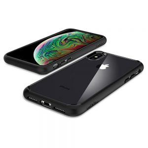 Чехол Spigen Ultra Hybrid Matte Black для iPhone XS Max