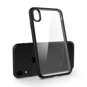 Чехол Spigen Ultra Hybrid Matte Black для iPhone XR