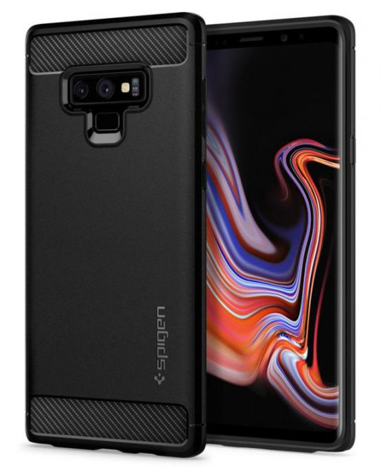 Чехол Spigen Rugged Armor Matte Black для Samsung Galaxy Note 9