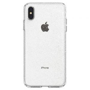 Чехол Spigen Liquid Crystal Glitter Crystal Quartz для iPhone XS Max