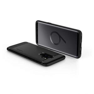 Чехол Spigen Rugged Armor Matte Black для Samsung Galaxy S9 Plus