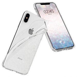Чехол Spigen Liquid Crystal Glitter Crystal Quartz для iPhone XS/X