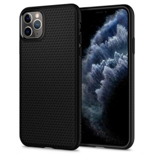 Чехол Spigen Liquid Air Armor Black для iPhone 11 Pro