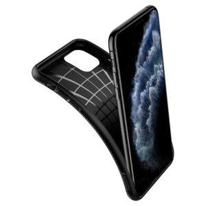 Чехол Spigen Liquid Air Matte Black для iPhone 11 Pro Max