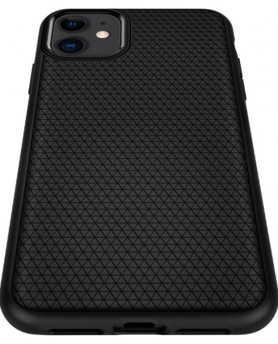 Чехол Spigen Liquid Air Armor Black для iPhone 11