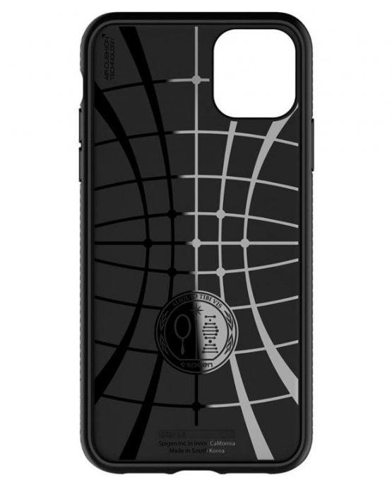 Чехол Spigen Liquid Air Armor Black для iPhone 11