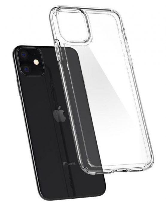 Чехол Spigen Ultra Hybrid Crystal Clear для iPhone 11
