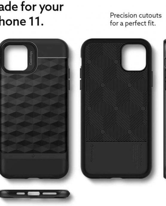 Чехол Caseology Parallax Matte Black для iPhone 11