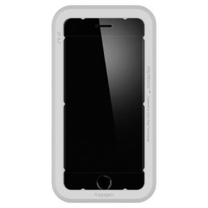 Защитное стекло Spigen AlignMaster GLAS.tR для iPhone SE (2020)/8/7