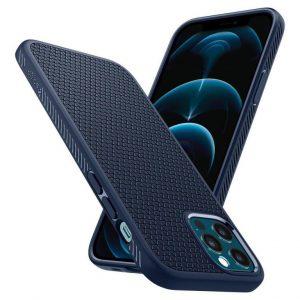 Чехол Spigen Liquid AirNavy Blue для iPhone 12 / 12 Pro
