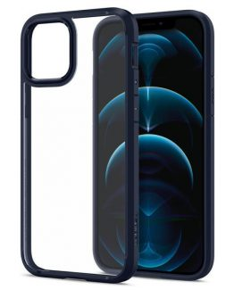 Чехол Spigen Ultra Hybrid Navy Blue для iPhone 12 / iPhone 12 Pro