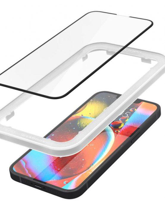 Защитное стекло Spigen Screen Protector Glas.tR EZ FIT для iPhone 13 / iPhone 13 Pro sensor protection