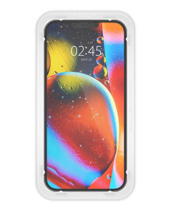 Защитное стекло Spigen Screen Protector Glas.tR EZ FIT для iPhone 13 Pro Max